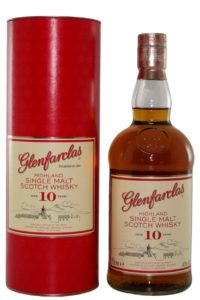 Glenfarclas 10yr single malt scotch whisky