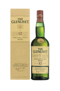 The Glenlivet 12yr single malt Scotch Whisky