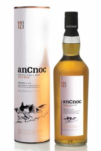 ancnoc 12yr single malt scotch whisky