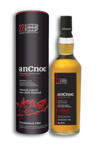 ancnoc 22yr single malt scotch whisky