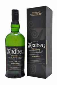 ardbeg ten single malt scotch whisky