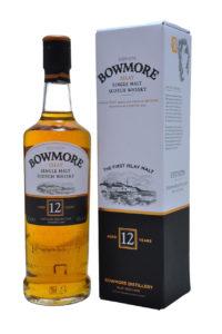 bowmore 12yr single malt scotch whisky