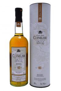 clynelish 14yr single malt scotch whisky