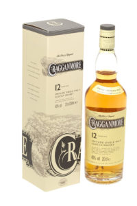 cragganmore 12yr single malt scotch whisky