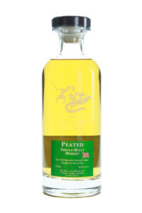 english peated cask strength single malt english whiskey