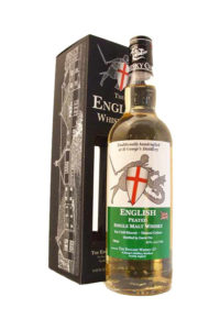english peated single malt english whiskey