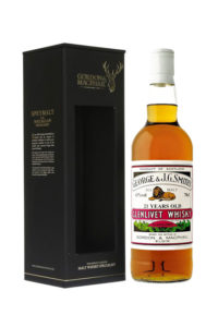 glenlivet 21yr by g&m single malt scotch whisky
