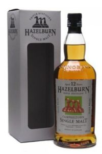 hazelburn 12yr single malt scotch whisky