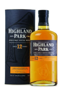 highland park 12yr single malt scotch whisky