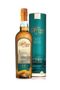 isle of arran 14yr single malt scotch whisky