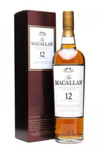 macallan 12yr single malt scotch whisky