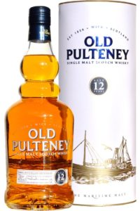 old pulteney 12yr single malt scotch whisky