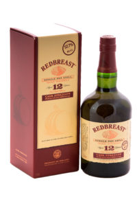 redbreast 12yr cask strength single pot still irish whiskey