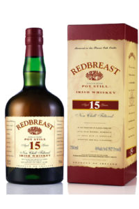 redbreast 15yr single pot still irish whiskey