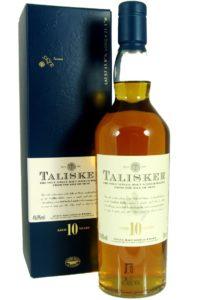 talisker 10yr single malt scotch whisky