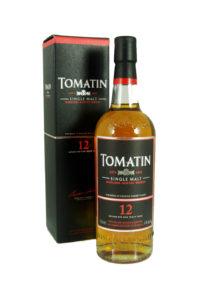 tomatin 12yr single malt scotch whisky