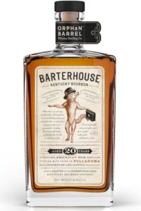 Barterhouse 20 bourbon whiskey