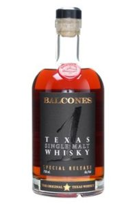 balcones 1 texas single malt whisky