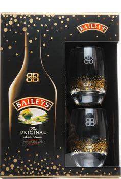 Baileys Gift Pack With Glasses