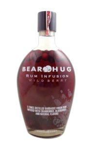Bear Hug Wild Berry Rum