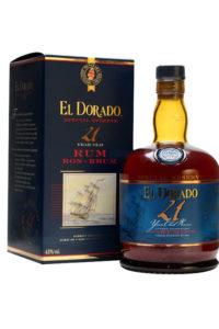 The El Dorado 21 Year Old Rum