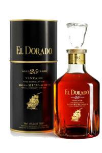The El Dorado 25 Year Old Rum