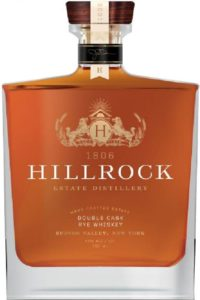 Hillrock Estate Distillery Double Cask Rye Whiskey