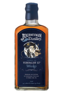 Journeyman Distillery Federalist 12 Rye Whiskey