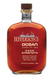 Jefferson's Ocean Aged At Sea Voyage 7 Cask Strength
