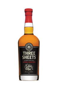 aged rum three sheets