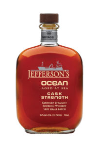 Jefferson's Ocean Aged At Sea Voyage 10 Cask Strength Kentucky Straight Bourbon Whiskey